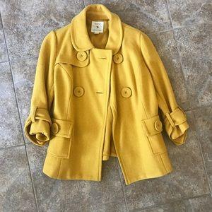 Forever 21 Mustard Yellow Coat